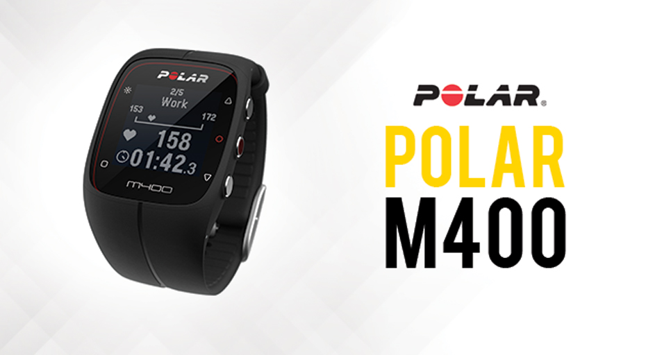 Test Polar M400 HR - Montre running cardio GPS