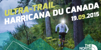 L'ultra-trail harricana du Canada 2015 avec tnf the north face