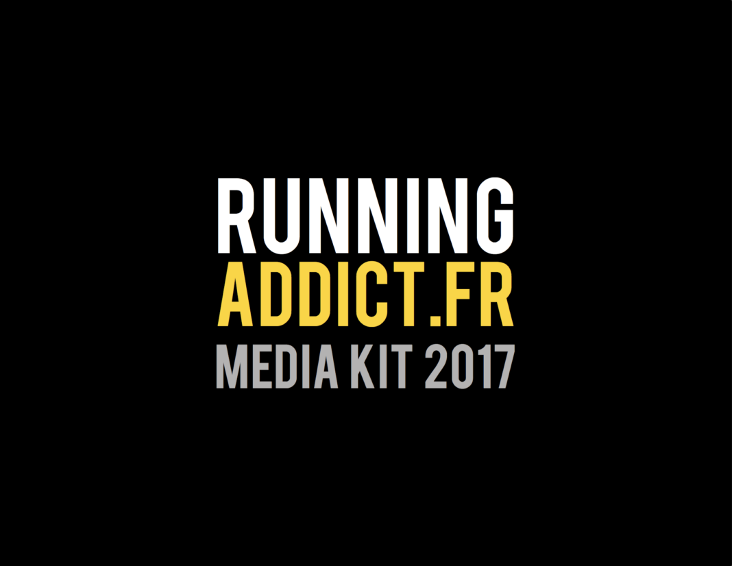 Le media kit blog running addict