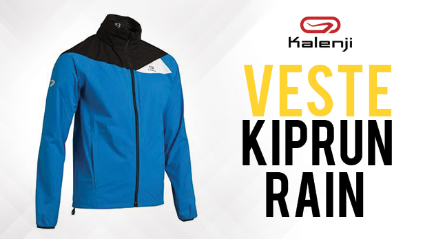 performance sportswear utterly stylish super cute Veste pluie running Kalenji Kiprun Rain - Running Addict