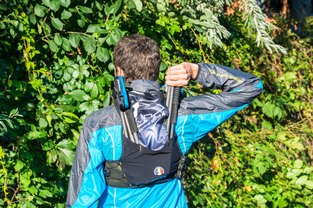 Sac trail Raidlight Responsiv 10L + tenue Ultralight