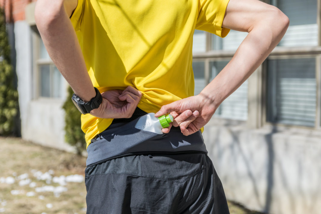 Ceinture porte bidon marathon : 5 alternatives !