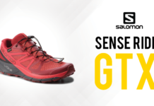 Test Salomon Sense Ride GTX