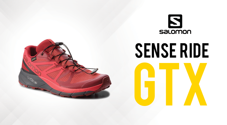 plus de photos ef6a5 113ae Salomon Sense Ride GTX : Chaussure de trail au Gore-Tex revisité